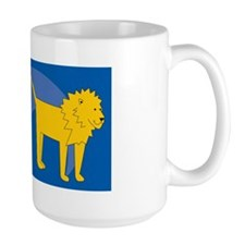 Lion Cocktail Platter Mug