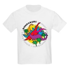 Dinosaurs2 Kids T-Shirt