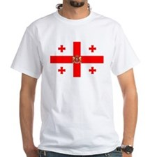 Georgia / Sakartvelo White T-shirt