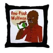 One-Pack Wolfman Throw Pillow