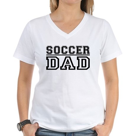 Soccer Dad Women's V-Neck T-Shirt