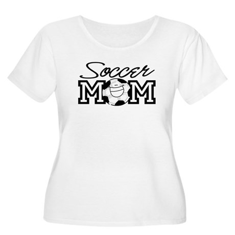 Soccer Mom Women's Plus Size Scoop Neck T-Shirt