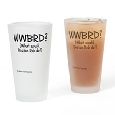 WWBRD? (What would Boston Rob do?) Drinking Glass