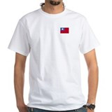 Shirt with the ROC (Taiwan) flag on it