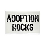 Adoption Rocks Rectangle Magnet