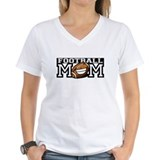 Football Mom Smilies Shirt