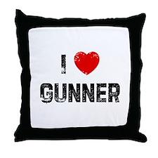 I * Gunner Throw Pillow