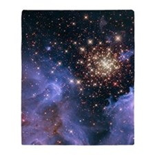 Celestial Fireworks 2 Throw Blanket