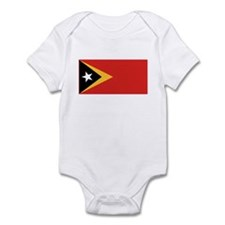 East Timor Leste Flag T Shirt Infant Bodysuit