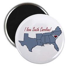 South Carolina-South Magnet