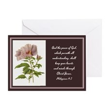 Constans Hibiscus - God Give You Pea Greeting Card
