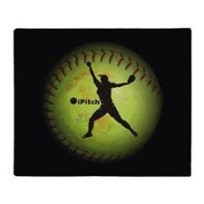 iPitch Fastpitch Softball (right handed) Throw Bla