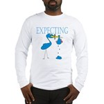 Expecting Blue Long Sleeve T-Shirt