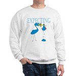 Expecting Blue Sweatshirt
