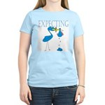 Expecting Blue Women's Light T-Shirt