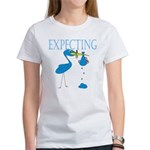 Expecting Blue Women's T-Shirt