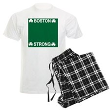 Boston Strong Shamrock Pajamas