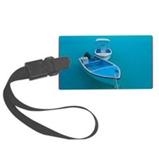BLUE BOATS Luggage Tag