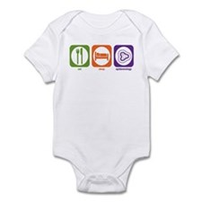 Eat Sleep Epidemiology Infant Bodysuit