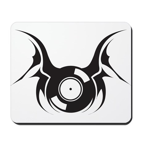 Flying Record Mousepad