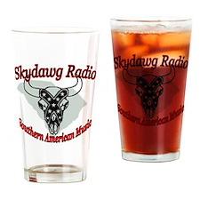 Skydawg Radio Carolina Drinking Glass