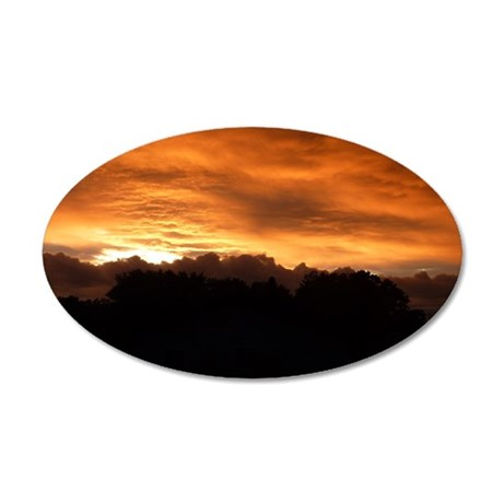 Painted by God I 35x21 Oval Wall Decal