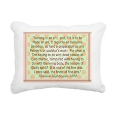 florence blanket 2 Rectangular Canvas Pillow