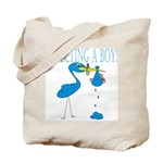 Expecting a Boy Tote Bag