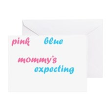 Pink or Blue Greeting Card