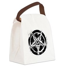 Look how evil I am! Canvas Lunch Bag