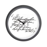 Scripture Wall Clocks
