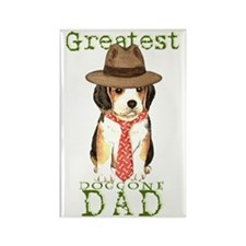 beagle dad Rectangle Magnet