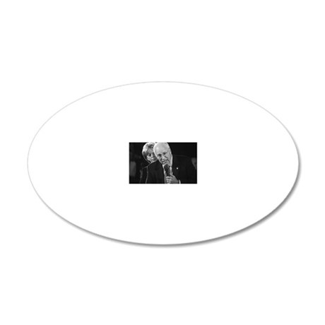 DICK CHENEY 20x12 Oval Wall Decal