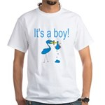 It's a Boy White T-Shirt
