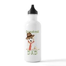 Bichon Dad Water Bottle