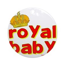 royal baby1 Round Ornament