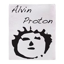 Alvin Proton Throw Blanket