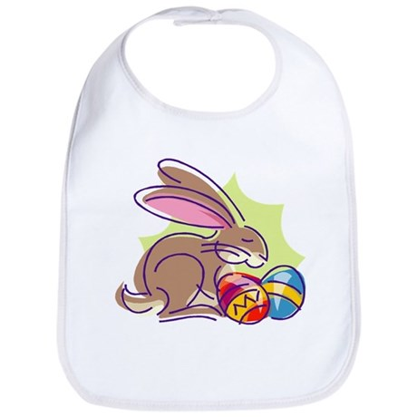 Cute Easter Bunny Bib