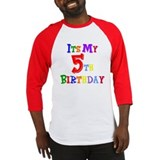 5th Birthday Baseball Jersey