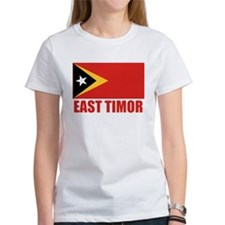 East Timor Flag Tee