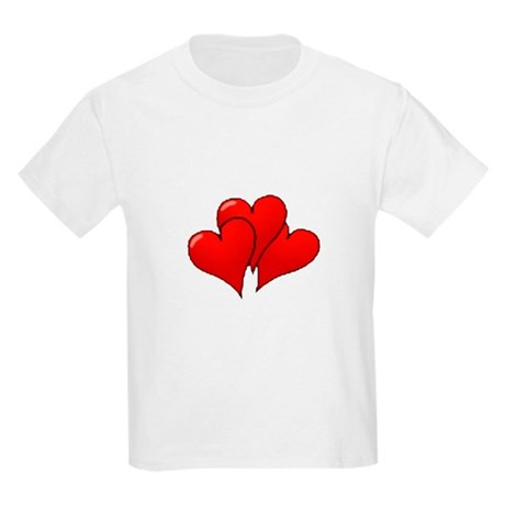 Three Hearts Kids Light T-Shirt