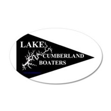 Lake Cumberland Boaters Penn Wall Decal