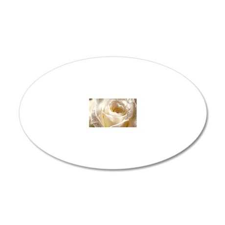 Beautiful Roses! 20x12 Oval Wall Decal