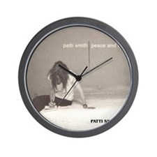 Patti Smith Poster Wall Clock