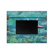 Starfish and Turquoise Picture Frame