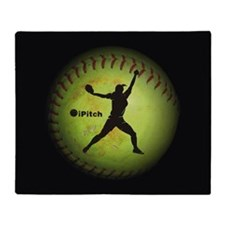 iPitch Fastpitch Softball (left handed) Throw Blan