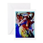 Nude Watercolor Greeting Cards (Pk of 10)