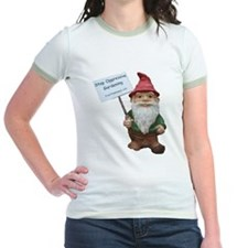 Protest Gnome: Women's Ringer T-Shirt