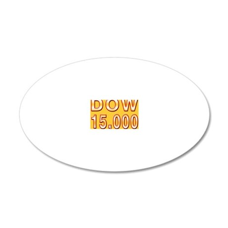 DOW 15000 20x12 Oval Wall Decal