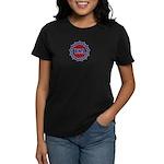 Stars Stripes Circle Women's Dark T-Shirt